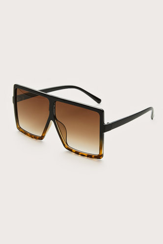 back_Summer Elizabeth Brown Leopard Square Frame Sunglasses