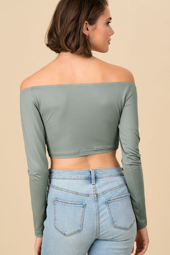 back_The Change Up {color} Crop Tee