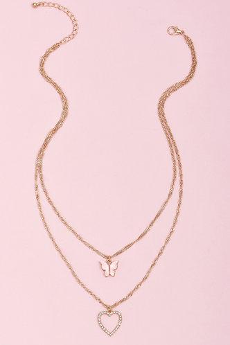 back_Gladys Fiskan Gold Necklace 2pcs