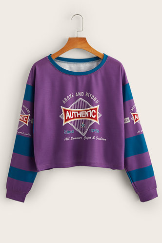 back_Della Eden Purple Pullover