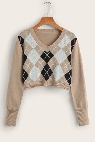 front_Anders Khaki Sweater