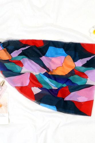 back_Althea Elizabeth Colorblock Cover-Up