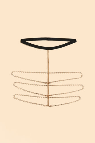 back_Merry Eleanore Gold Rhinestone Charm Thigh Chain