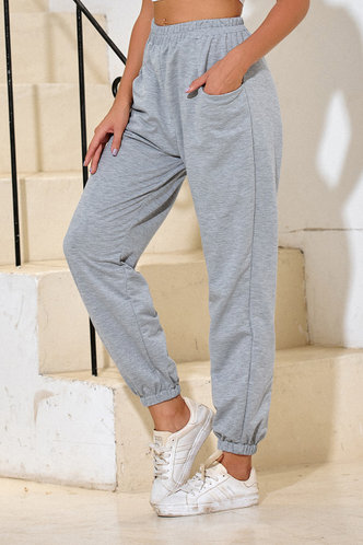 front_Malak Light Grey Sweatpants