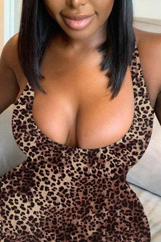 back_Damaris Elvira Leopard Print Halter Dress