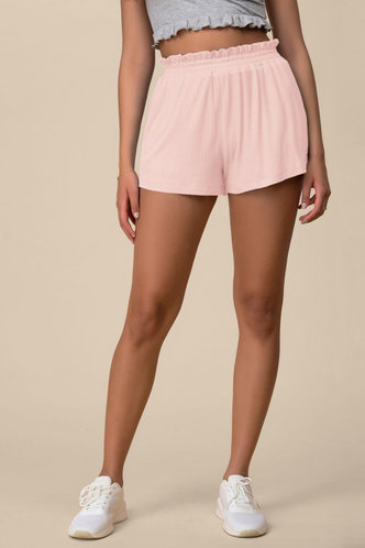 front_Poetic Love Blush Shorts