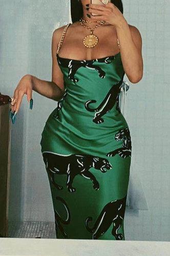 front_Roseanne Erica Emerald Green Slip Dress
