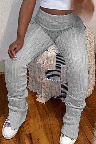 front_Nora Light Grey Leggings