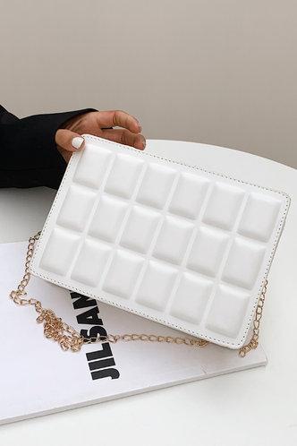 back_Macy Elvira White Crossbody Bag