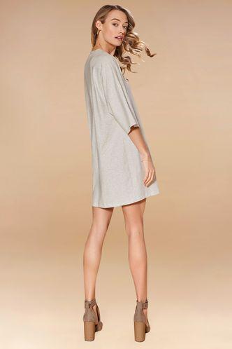 back_Just Right Grey Mini Dress