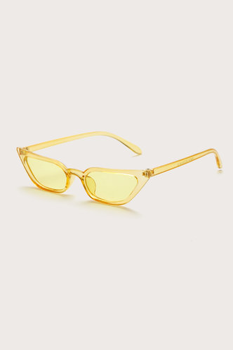 back_Summer Elma Yellow Cat Eye Sunglasses