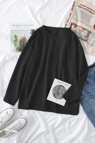 front_Frieda Eartha Black Sweatshirt