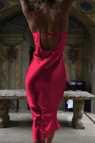 back_Abby Emily Red Wine Tie Open Back Dress