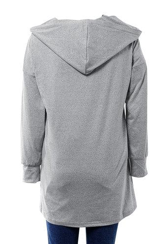 back_Long Way Light Grey Robe