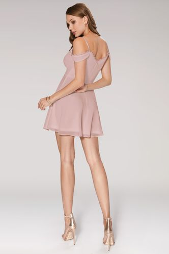 back_You Are The Reason Dusty Rose Mini Dress