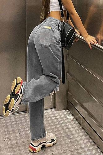 back_Roseanne Eden Black Ripped Knee JeanS