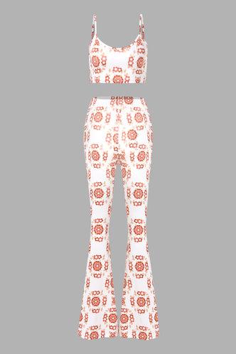 back_Millie Enid Floral Print Set