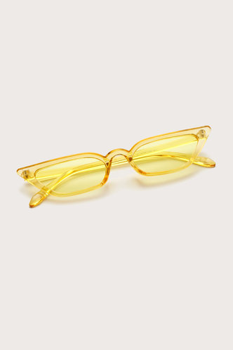 front_Summer Elma Yellow Cat Eye Sunglasses