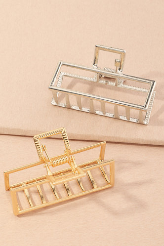 back_Ingeborg Elma Gold And Silver Hair Claw 2pcs