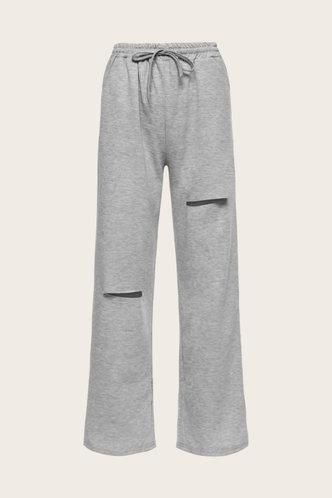 back_Shera Edwina Grey Sweatpants