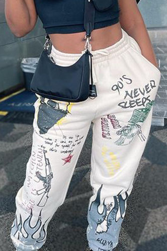 front_Denise Eve Multi Print Sweatpants