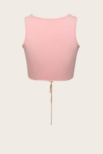 back_Convertible Pink Tank Tops