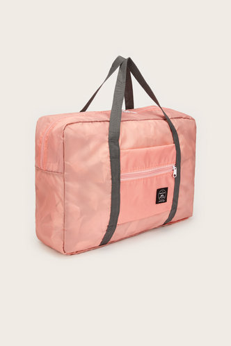 back_Color Block Pink Travel Accessorie