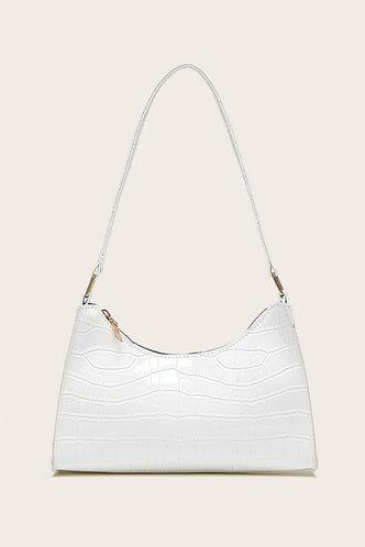 back_Claire Eden White Shoulder Bag