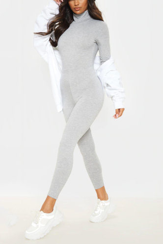 front_Lilith Eileen Light Grey Jumpsuit