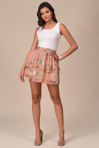 front_Paris Romance {Color} Skirt