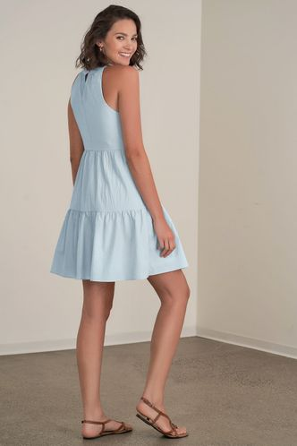back_What You Want Sky Blue Mini Dress