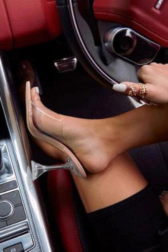 front_Enid Pepian Beige Heeled Sandals