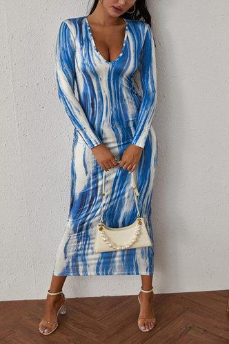 back_Harriet Emily Blue Tie Dye Dress