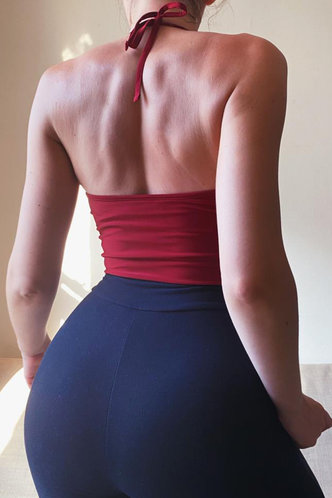 back_Lizzie Erin Red Tank Top