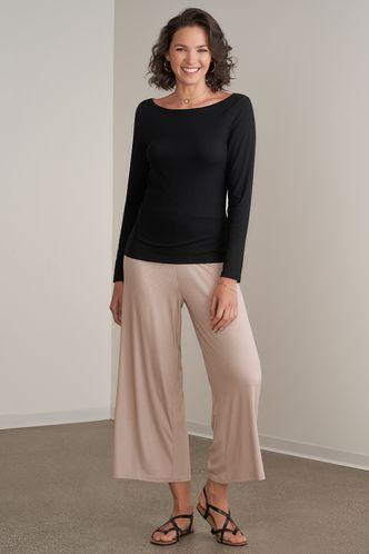back_Radinka Black Long Sleeve Top