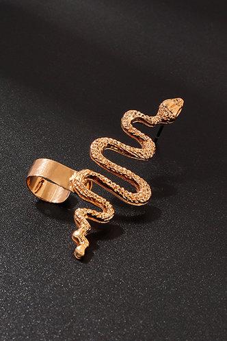 back_Inez Elma Gold Snake Wide Ear Cuff