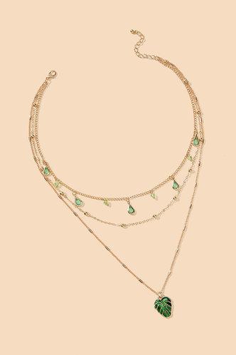 back_Annis Elsie Gold Layered Necklace
