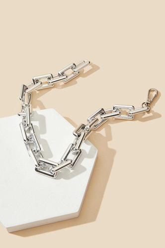 back_Alberta Elma Silver Chain Necklace