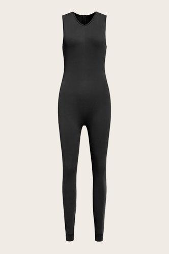 back_Estelle Evangeline Black Jumpsuit