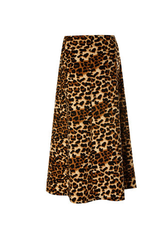 back_Leopard Love Leopard Print Skirt