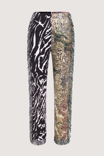 back_Christina Evangeline Multi Print Pants