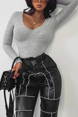 back_Sue Eartha Grey Bodysuit
