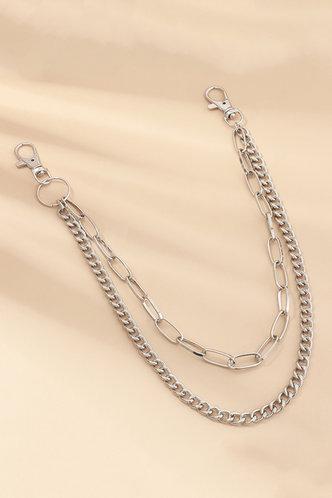 back_Brigid Elsie Sliver Simple Pant Chain
