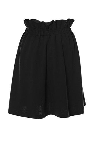 back_Dinner & Drinks Black Button Front Skirt