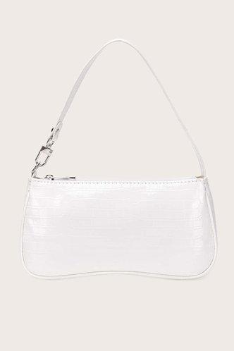 front_Theodora Erica White Shoulder Bag