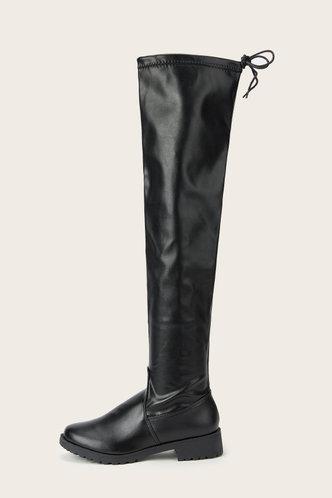 back_Dale Eudora Black Riding Boots