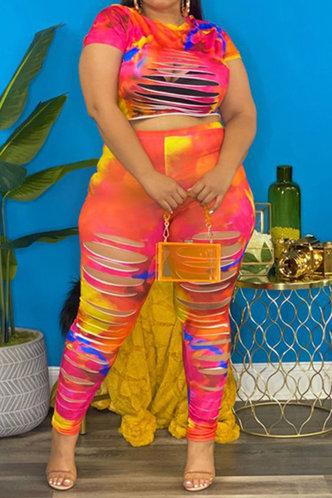 front_Belle Esther Tie Dye Plus Set
