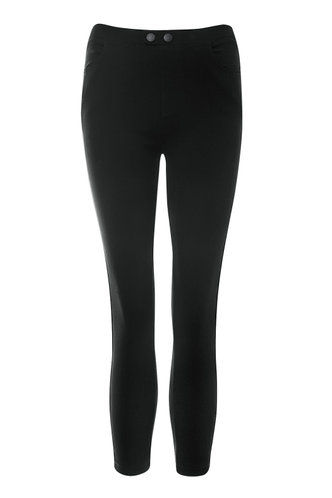 front_Sincerely Yours Black Ankle Jeggings