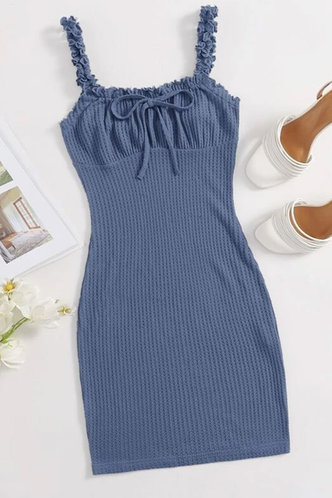 front_Keely Erica Rusty Blue Dress