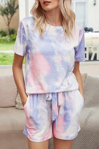 back_Faithe Elaine Pink Tie Dye Set